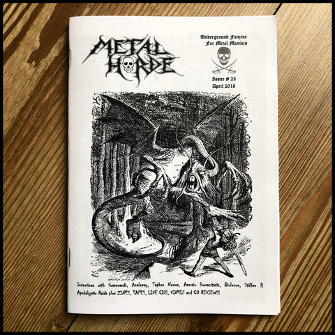 METAL HORDE fanzine issue 23