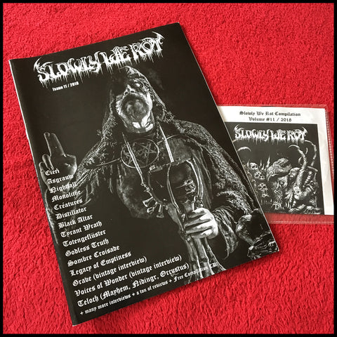 SLOWLY WE ROT #11 zine (and CD)