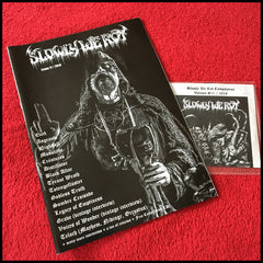 NEW: SLOWLY WE ROT #11 zine (and CD)
