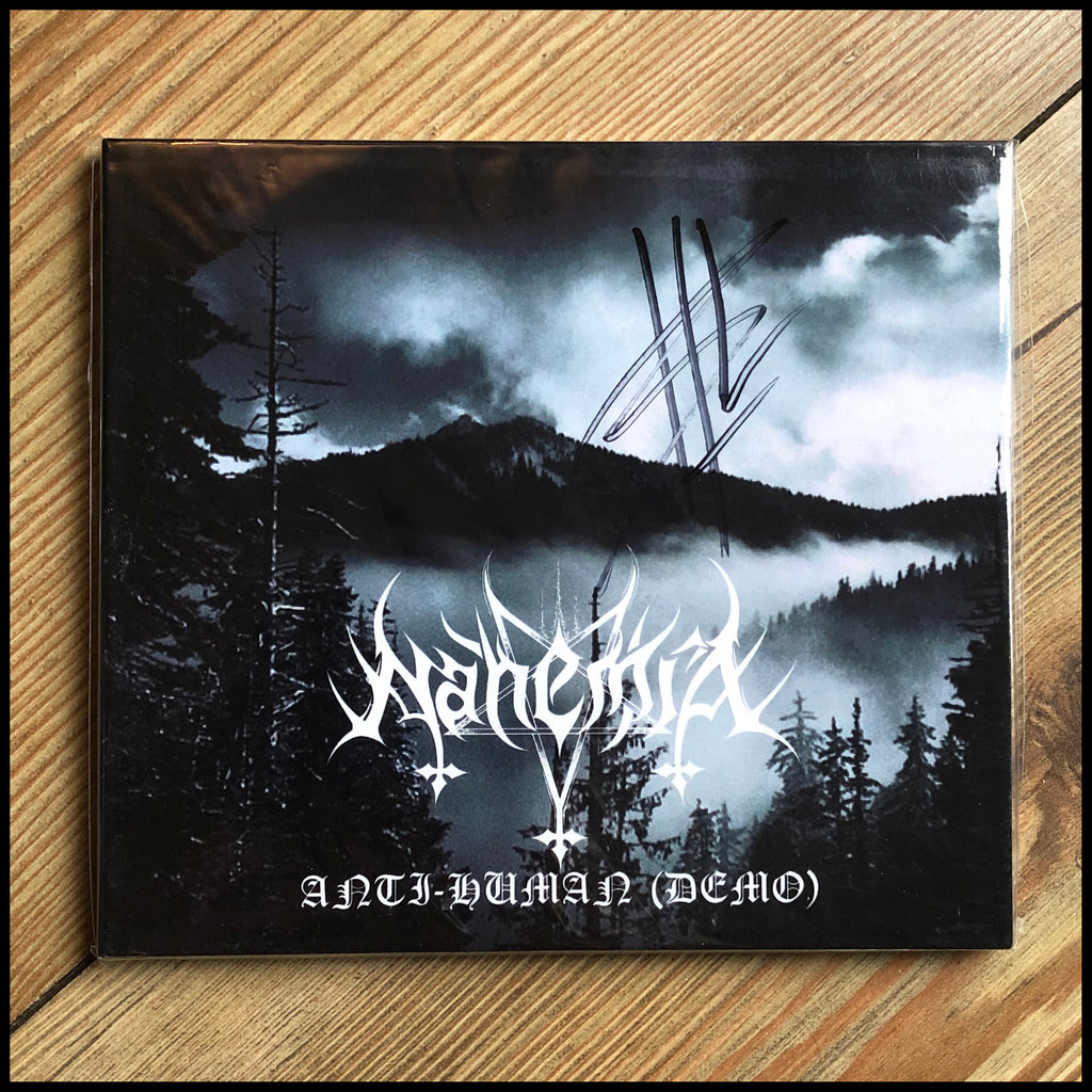 NAHEMIA: Anti-Human demo CD (signed digipacks)