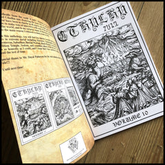 CTHULHU ZINE collection 4 (Issues 10, 11 & 12)  [black/death/grind/war metal]