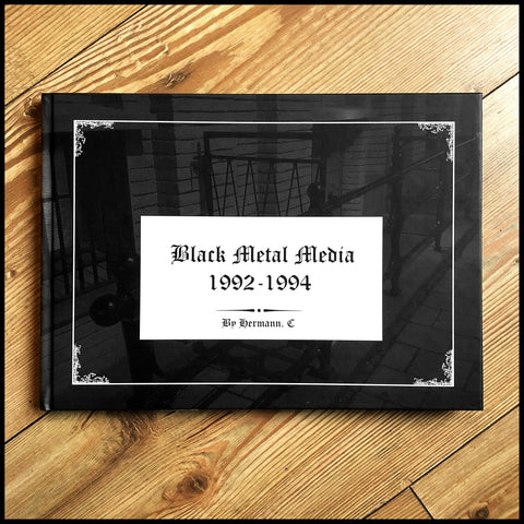 BLACK METAL MEDIA 1992-1994 hardback book (Helvete, church burning, Varg etc reportage)