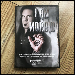 I AM MORBID book by David Vincent (ex-MORBID ANGEL/VLTIMAS)