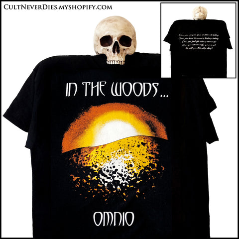 Restock (2nd Dec 2019) IN THE WOODS...: 'OMNIO' 2 sided Gildan shirt