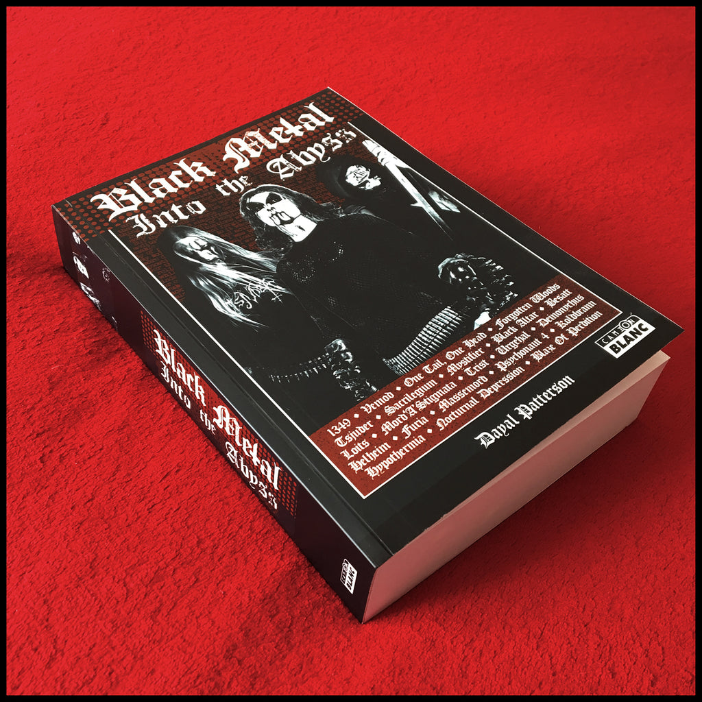 BLACK METAL: INTO THE ABYSS book ***French Language Edition*** (Signed by author)