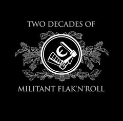 LOITS: 'Two Decades of Militant Flak N Roll' Ltd shirt