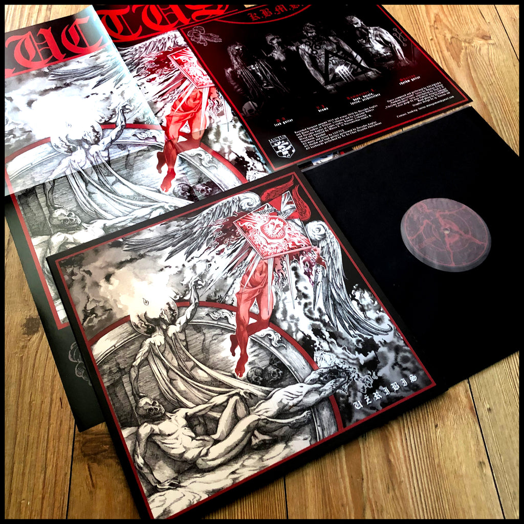 LUCTUS: Užribis LP (inc. poster and colour insert)