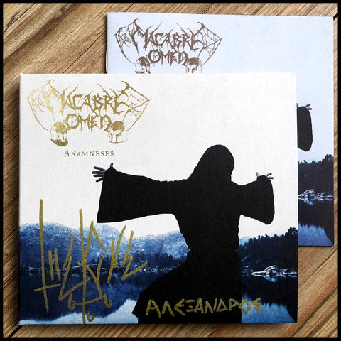 MACABRE OMEN: Anamneses CD digipack *signed*