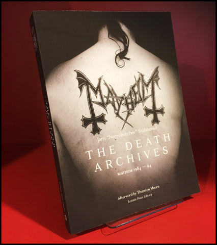 New pre-order [3 OCT 2018] THE DEATH ARCHIVES: MAYHEM 1984-94 book