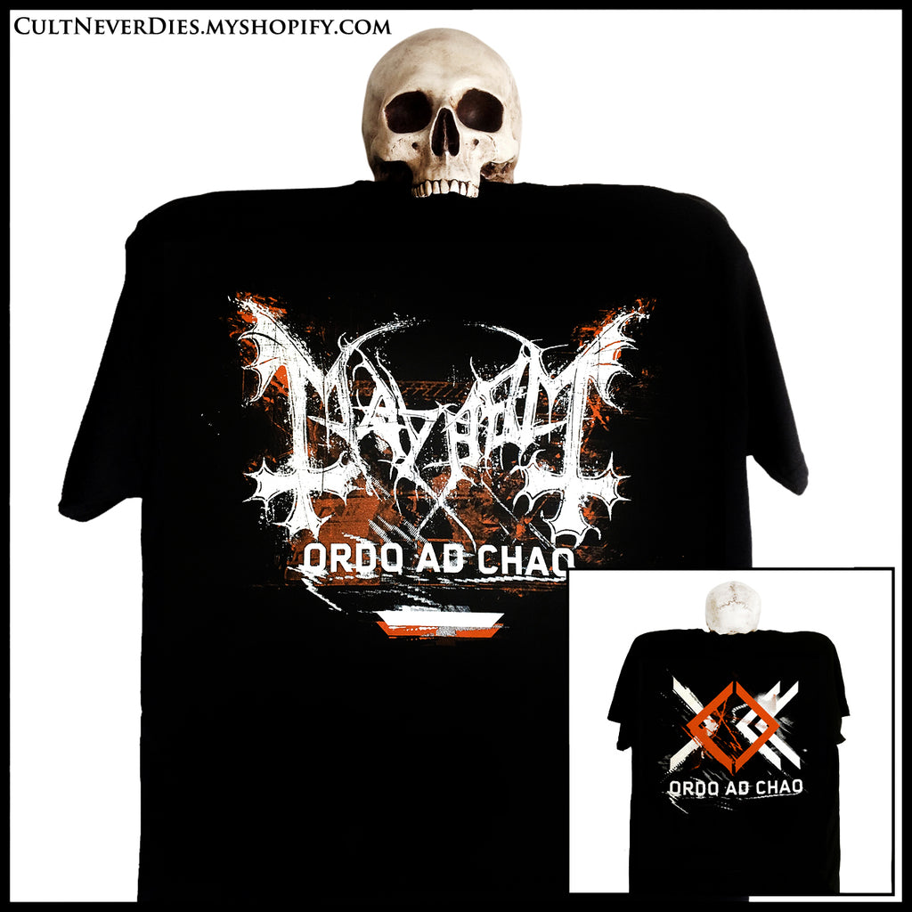 MAYHEM: 'Ordo Ad Chao' shirt (limited numbers)