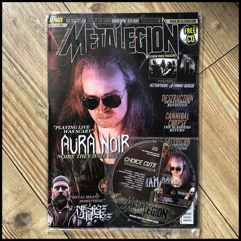 METALEGION magazine #3 (plus CD)