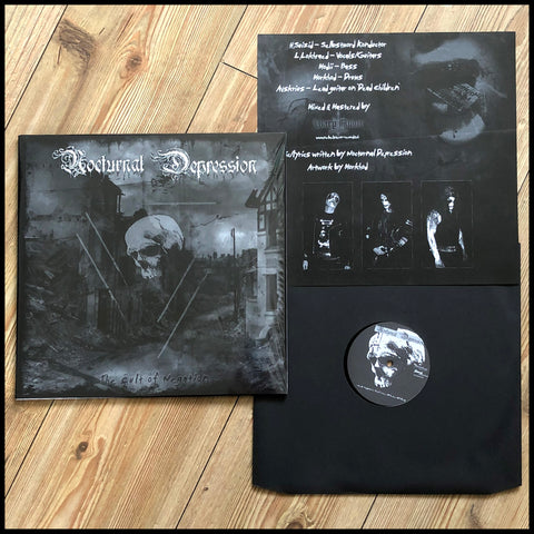 NOCTURNAL DEPRESSION: The Cult Of Negation LP