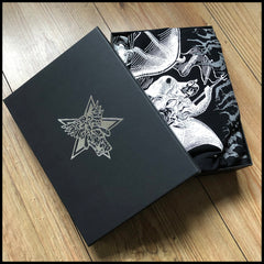 NON SERVIAM: THE STORY OF ROTTING CHRIST signed colour hardback boxset (inc. shirt, prints & more