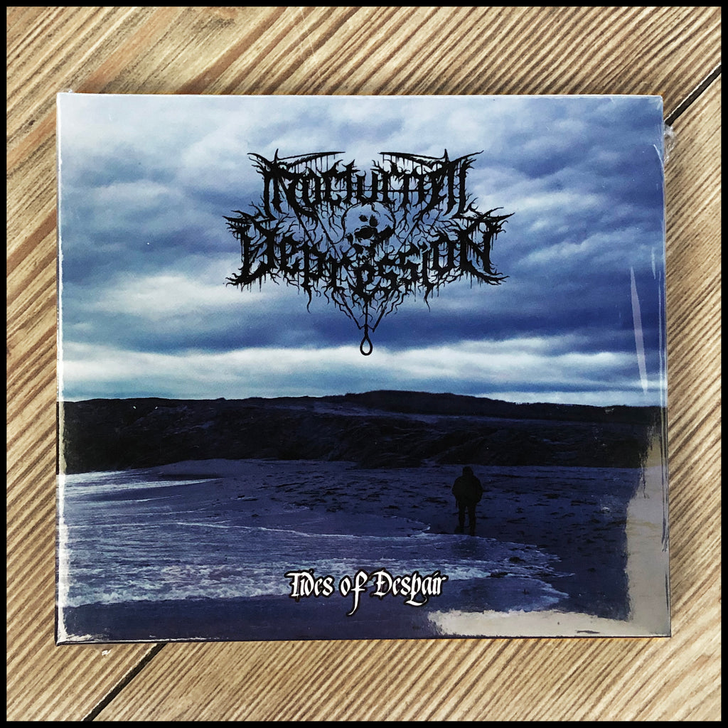 NOCTURNAL DEPRESSION: Tides Of Despair CD digipack (sealed)