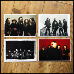 WOLVES WHO WERE MEN - THE HISTORY OF MOONSPELL [paperback / signed hardback boxset with CD, flag, prints & more]