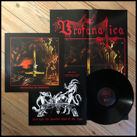 PROFANATICA: Profanatitas de Domonatia LP (includes poster and printed inner sleeve)