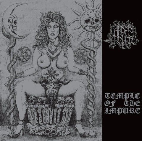 HADES ARCHER: Temple Of The Impure LP (black vinyl)