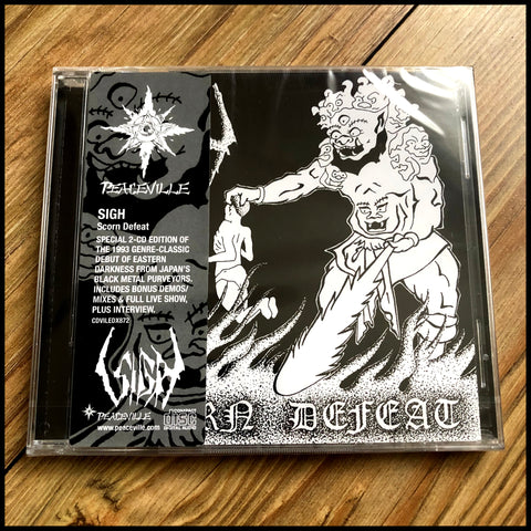 SIGH: Scorn Defeat 2CD (double CD reissue)