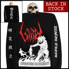 SIGH - 'Scorn Defeat (original art)' longsleeve shirt
