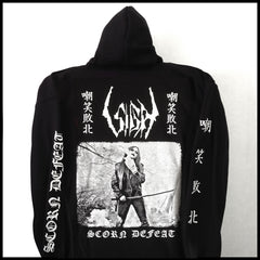 NEW: SIGH - SCORN DEFEAT 'Samurai' Official Zip Hoodie [Pre-order: 1st March]
