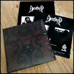THE DEATHTRIP: A Foot In Each Hell - The Complete Demos LP (inc. printed innersleeve & poster)