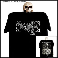 THE BLACK: 'The Priest Of Satan' shirt (limited numbers)
