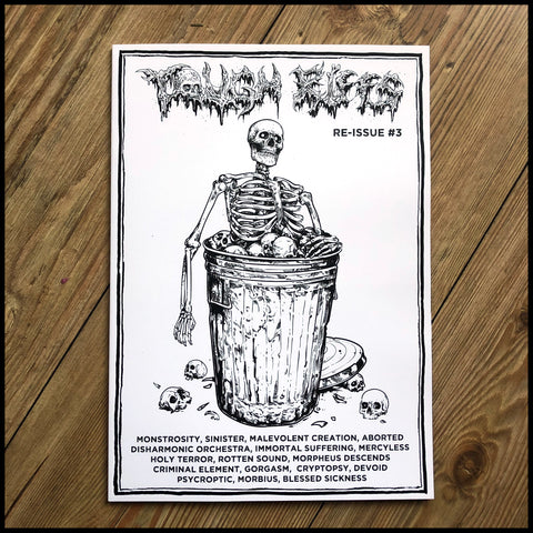 TOUGH RIFFS #3 zine  (Mercyless, Rotten Sound, Sinister, Holy Terror etc)