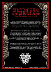 ULTIMATE DARKNESS ZINE ANTHOLOGY BOOK (Underground Archives Book II)