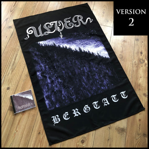 ULVER: Bergtatt large flag / textile poster (version 2, 'Solid text')
