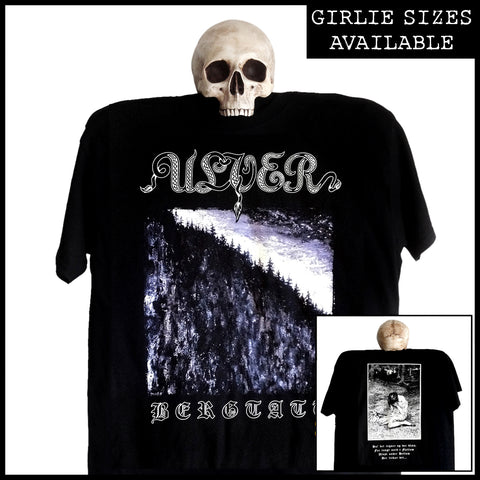 ULVER: 'Bergtatt' shirt (available as men's shirt and girlie shirt)