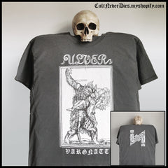 Ulver shirt / black metal shirt / Vargnatt shirt