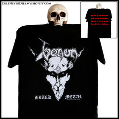 Venom shirt / black metal shirt