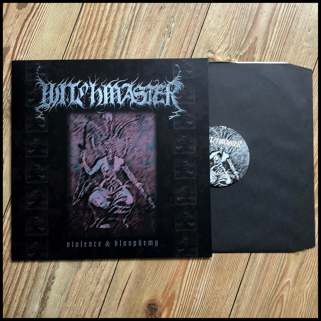WITCHMASTER: Violence and Blasphemy LP (black vinyl, limited edition)