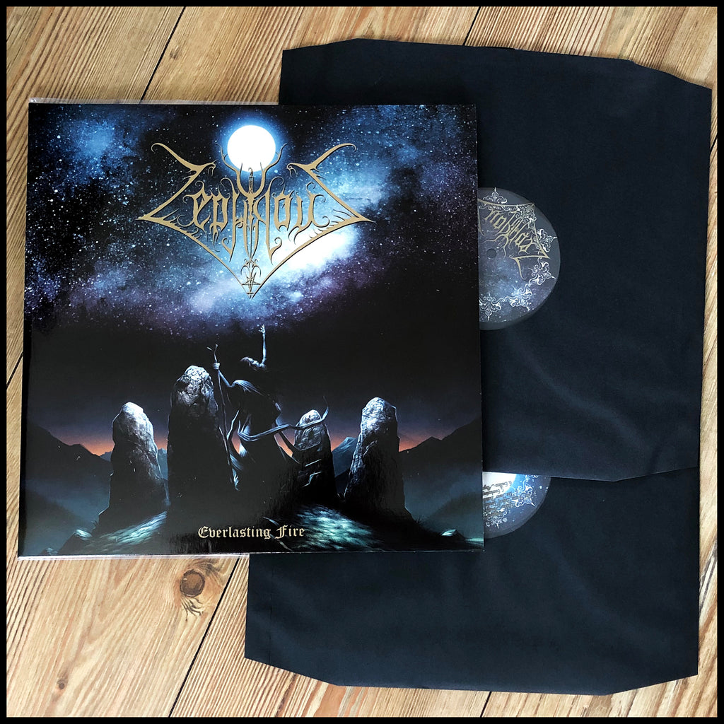 ZEPHYROUS: Everlasting Fire double LP (2 x black vinyl, gatefold, classic 90s Greek black metal)
