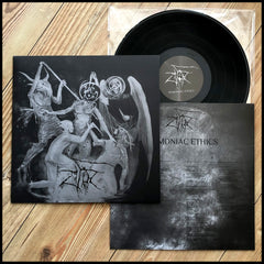 ZIFIR: Demoniac Ethics LP (gatefold vinyl, quality black metal with doom touches from Turkey)