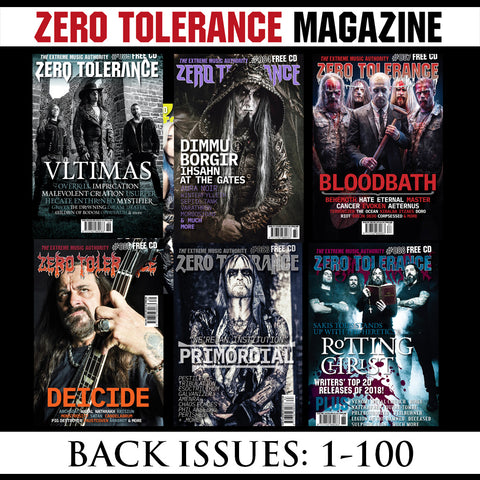 ZERO TOLERANCE magazines (multiple back issues, issues 1-present)