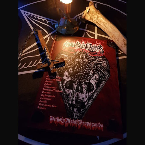 Pre-order [20th October] ANCIENT SPIRIT TERROR #6 zine