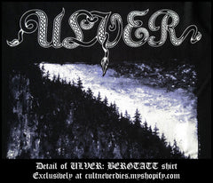 ULVER: 'BERGTATT' shirt / girlie shirt