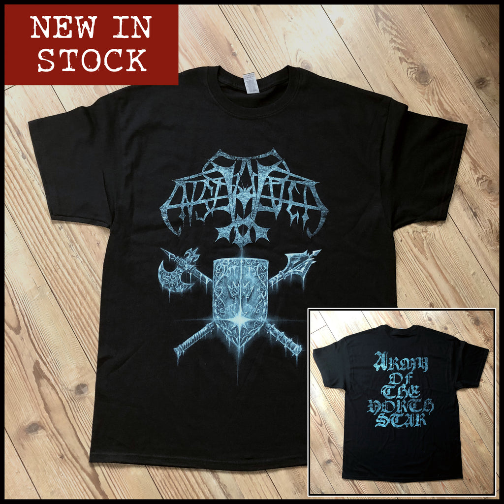 ENSLAVED: 'Army Of The North Star' anniversary shirt (limited numbers)