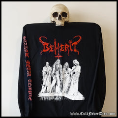 BEHERIT - 'Satanic Metal Temple' longsleeve shirt