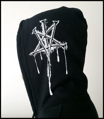 ROTTING CHRIST - '25 Years Denying The False God' zip hoodie