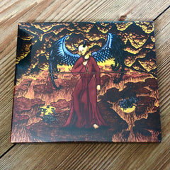 LIGFAERD: Den Ildrøde Konge CD digipack (Danish black metal in the vein of Marduk)