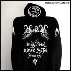 Restock (2nd Dec 2019): MYSTICUM: 'Never Stop The Madness' zip hoodie