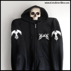 MYSTICUM: 'Never Stop The Madness' zip hoodie