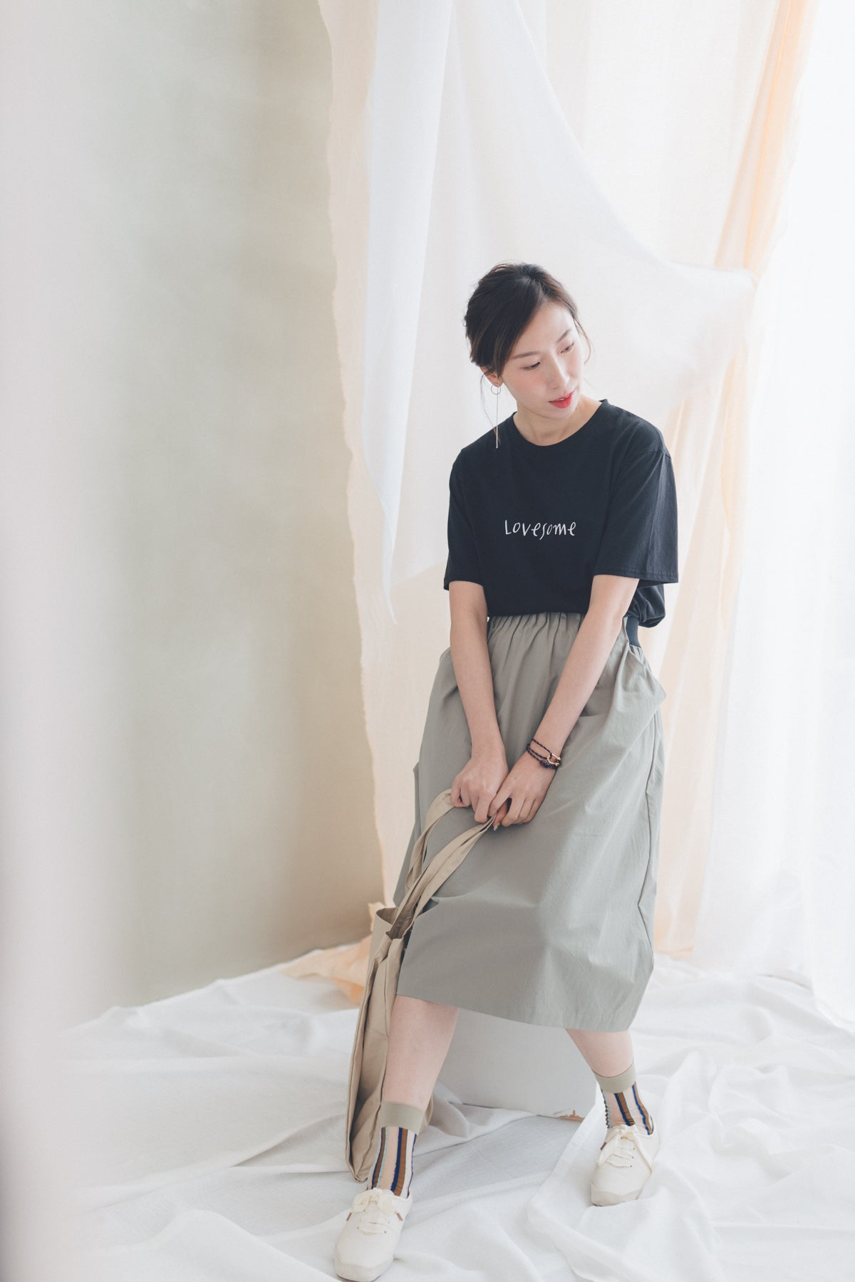 Lovesome T-shirt/黑