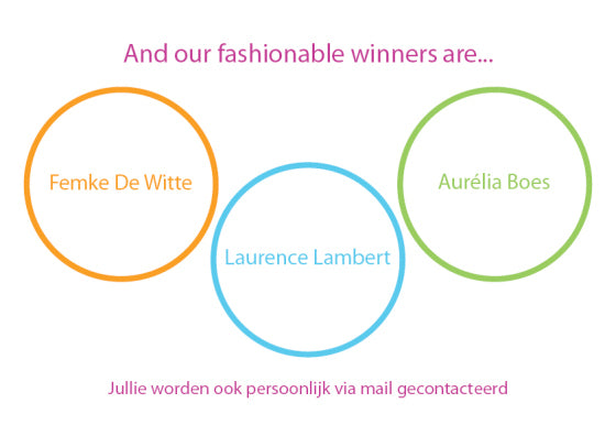 And our fashionable winners are
