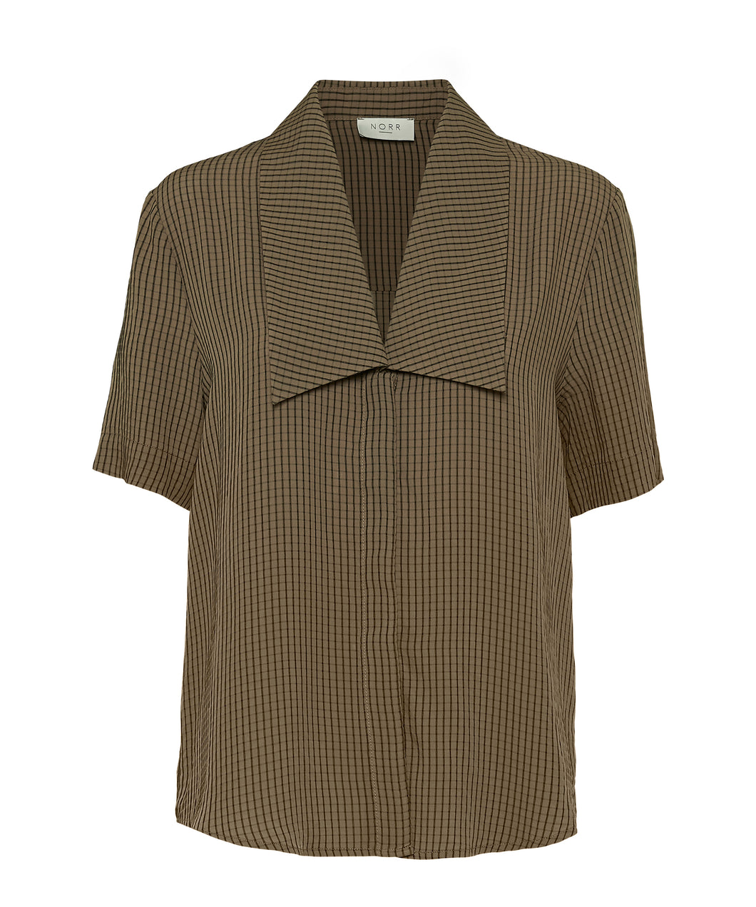 Norr - Devon Shirt - Dark Brown