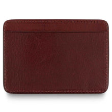 Load image into Gallery viewer, Escuyer - Cardholder - Burgundy/Red