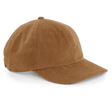 Load image into Gallery viewer, Corduroy Cap - Camel