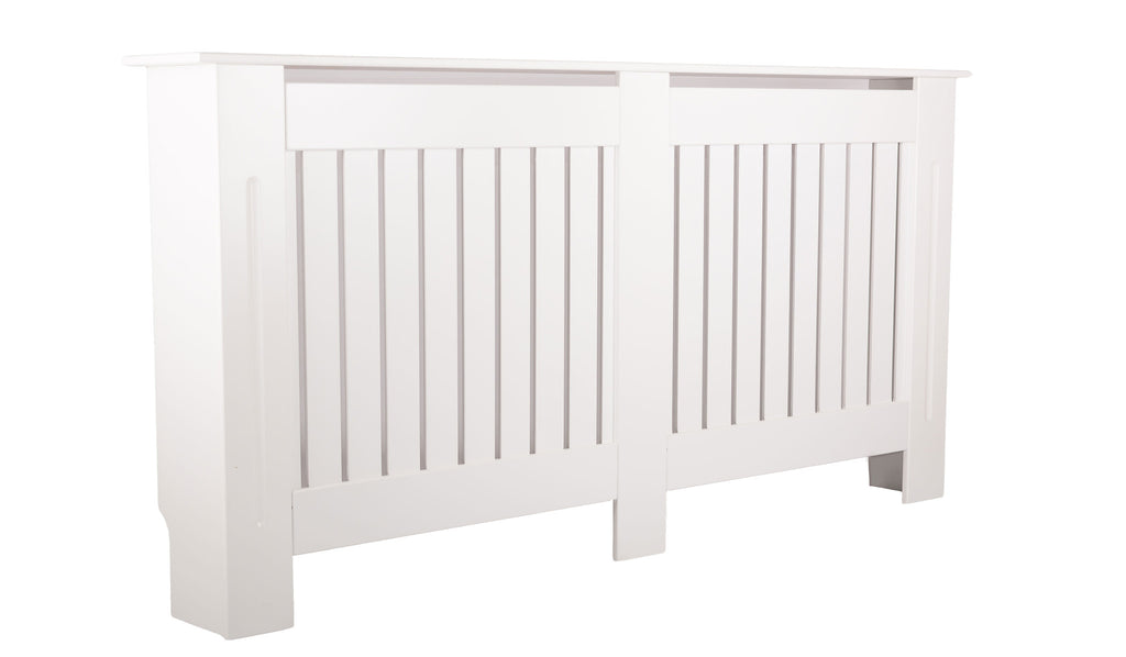 C - Large Brooklyn White Radiator Cover